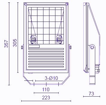 Купить прожектор FL-03S Foton